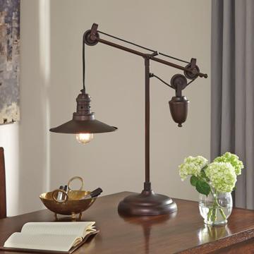 Picture of Kylen Bronze Finish Desk Lamp