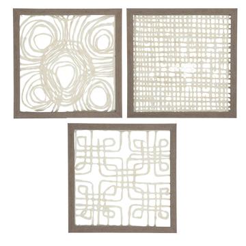 Picture of Odella Set of 3 Sculptural Art