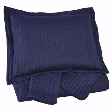 Picture of Raleda Navy Queen Comforter Set