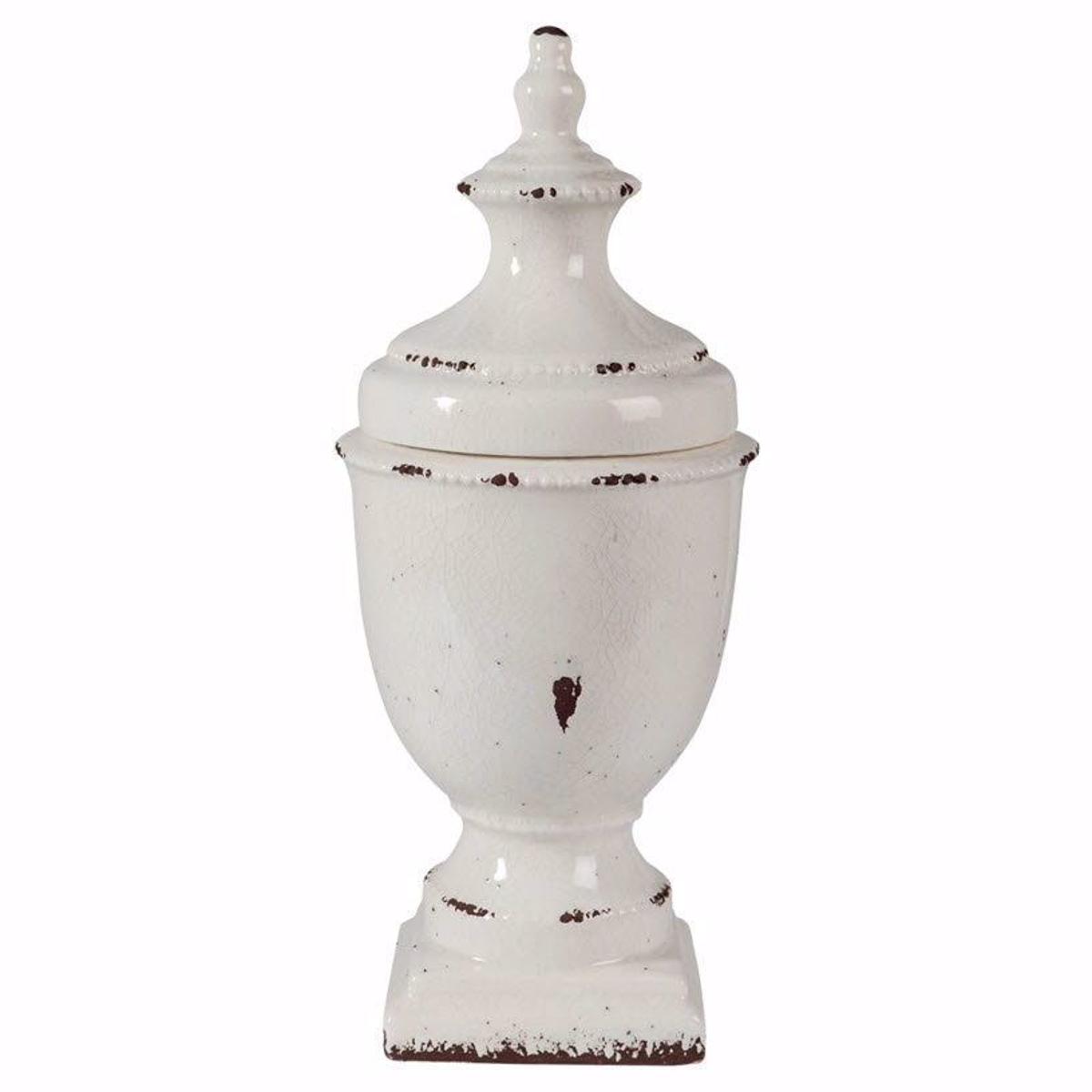 Picture of Devorit Antique White Jar
