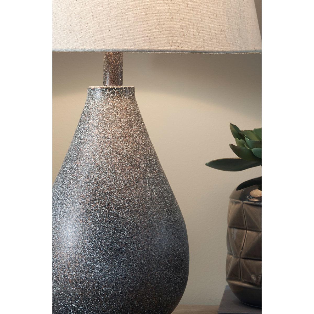 Picture of BATEMAN METAL TABLE LAMP PAIR